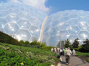 A day out at the Eden Project