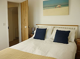 Double bedroom at Greenbank holiday cottage