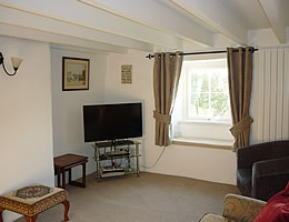Lounge at Greenbank holiday cottage