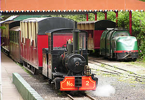 Steam trains at the Lappa Valley Steam Railway