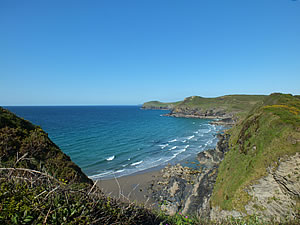 Along the north coast from Polzeath