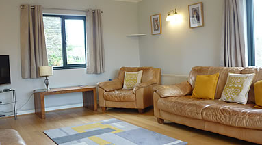 Lounge at Penpont Mill holiday cottage