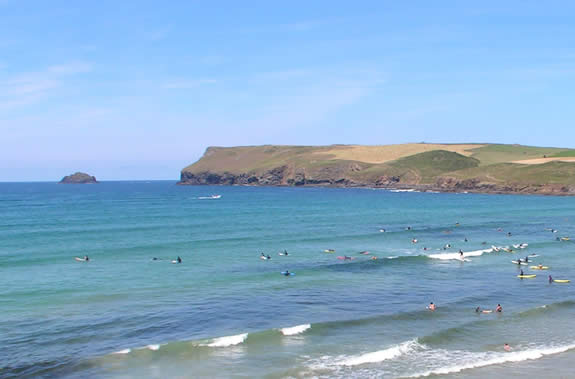 Polzeath Beach - great for a holiday by the sea