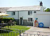 The Retreat holiday cottage in Cornwall